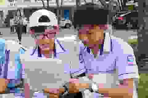Nghệ An: Thí sinh hào hứng với bài thi tổ hợp tuyển sinh lớp 10