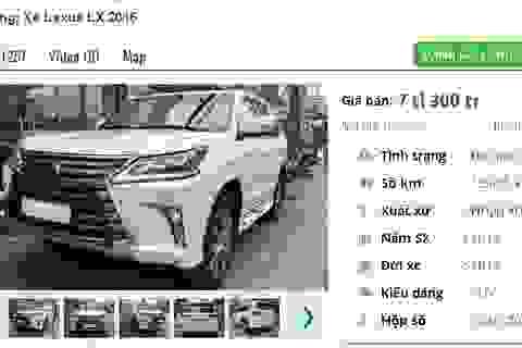 """Những chiếc ô tô cũ này đang rao bán giá cao """"ngất ngưởng"""" 7 tỷ đồng tại Việt Nam"""