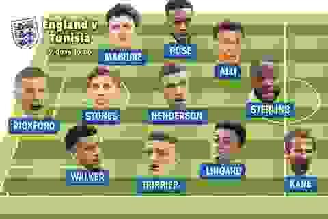 Lộ đội hình chính đội tuyển Anh ở World Cup 2018: Rashford dự bị
