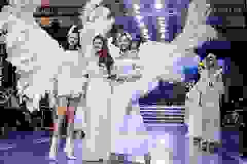 Hoa hậu Thái Nhiên Phương trổ tài thiết kế