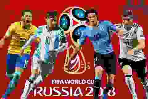 Lịch thi đấu thông minh - Ứng dụng không thể thiếu trên smartphone trong mùa World Cup