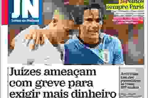 Phản ứng của báo chí thế giới khi C.Ronaldo và Messi cùng về nước