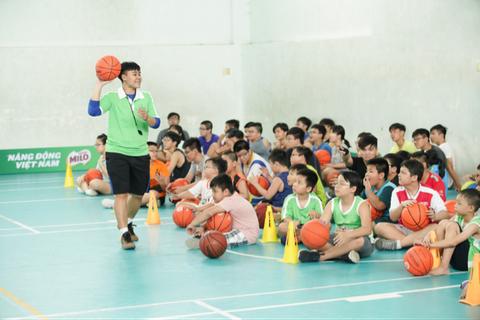 Hàng nghìn trẻ em hào hứng tham gia tại trại Hè năng lượng MILO 2018