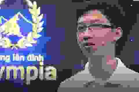 """Quán quân """"Đường lên đỉnh Olympia 2017"""" đạt 56,78 điểm trong kỳ thi THPT quốc gia"""
