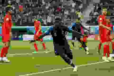 Những khoảnh khắc chiến thắng đưa Pháp vào chung kết World Cup 2018
