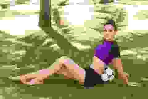 Nữ Hoàng Trần Huyền Nhung nóng bỏng cùng world cup