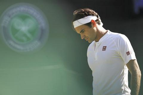 Wimbledon: Federer dừng bước sau thất bại trước Anderson