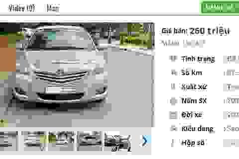 Chiếc ô tô Toyota cũ này đang rao bán nhiều nhất ở tầm giá 200 triệu đồng tại Việt Nam