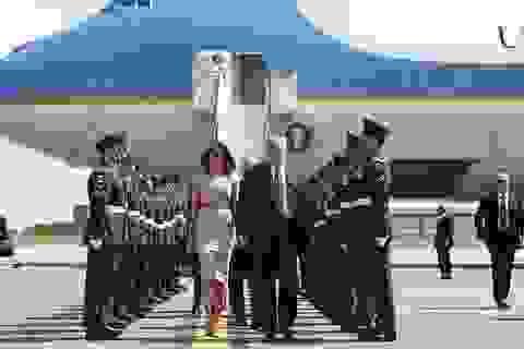 """""""Lá chắn thép"""" đảm bảo an toàn cho Tổng thống Trump tại Anh"""