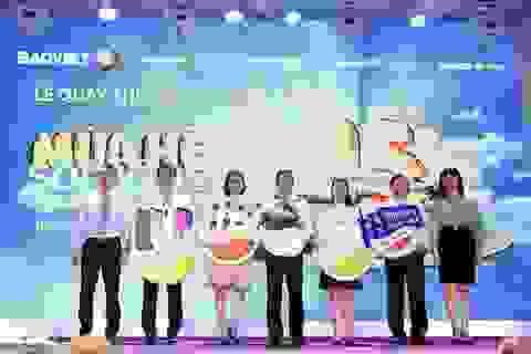 """Bảo Việt trao hơn 88.000 cơ hội trúng thưởng cho khách hàng tại Lễ quay thưởng đợt 1 chương trình """"Mùa hè sôi động"""""""