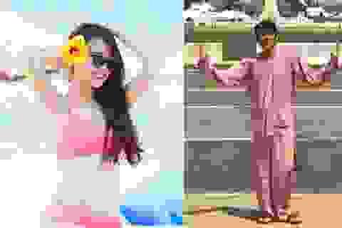 """Nhã Phương tự tin khoe dáng với bikini; Hoài Linh diện bà ba """"đi khắp thế gian"""""""