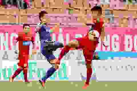 Hải Phòng và Bình Dương bất phân thắng bại ở vòng 19 V-League
