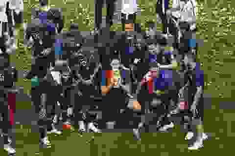 Những khoảnh khắc kinh điển ở trận chung kết World Cup 2018