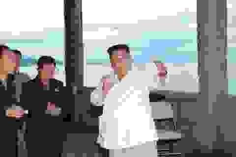 Ông Kim Jong-un thị sát công trình xây dựng, nổi giận vì tiến độ thi công chậm chạp