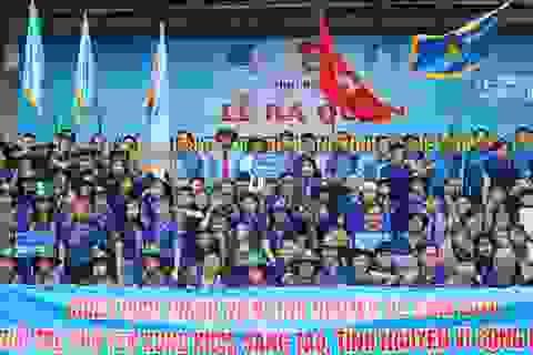 Phú Yên: Gần 370 sinh viên ra quân chiến dịch tình nguyện Mùa hè xanh năm 2018