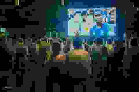 Xem bóng đá tập thể: Trải nghiệm khó quên của cư dân Vinhomes