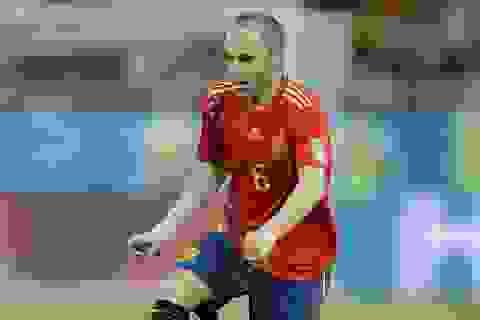 Bị loại khỏi World Cup, Iniesta nghẹn ngào từ giã đội tuyển Tây Ban Nha