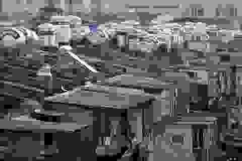 Bộ mặt thảm hại của những tập thể cũ ở Hà Nội