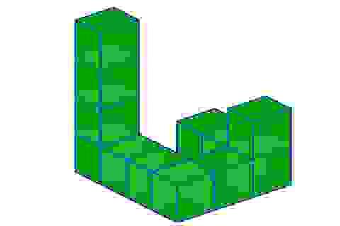 """Toán tương tác: Đáp án bài toán hình lập phương """"giấu mặt"""""""