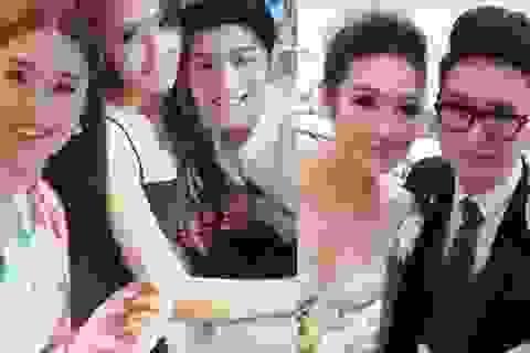 """Dự đám cưới Tú Anh cùng dàn Hoa hậu, Noo """"tiếc nuối"""" """"anh là người đến sau"""""""