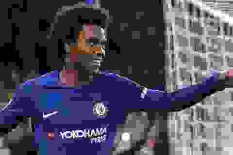 Nhật ký chuyển nhượng ngày 23/7: Chelsea đồng ý bán Willian