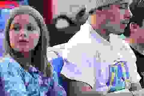 Con gái Beckham cắt tóc rất dễ thương