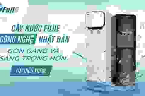 Bộ đôi cây nước nóng lạnh FujiE bình âm chinh phục thị trường Việt