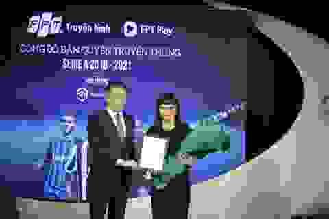 FPT sở hữu bản quyền giải Serie A tại Việt Nam