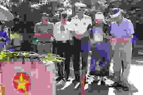 Ngày trở về của liệt sĩ gần nửa thế kỉ nằm lại đất bạn Lào