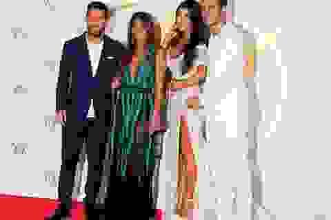 Hàng loạt ngôi sao bóng đá hiện diện trong tiệc cưới của Fabregas