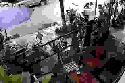 Chủ quán cà phê bị giang hồ dùng súng bắn giữa ban ngày