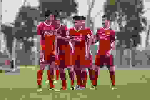 HLV Park Hang Seo luyện đá phạt góc như tuyển Anh cho Olympic Việt Nam