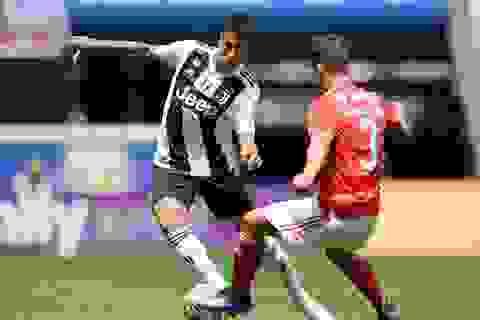 """Không có C.Ronaldo, Juventus """"hút chết"""" trước Benfica"""