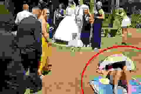 """Nắng nóng và câu chuyện """"bi hài"""" của một lễ cưới"""