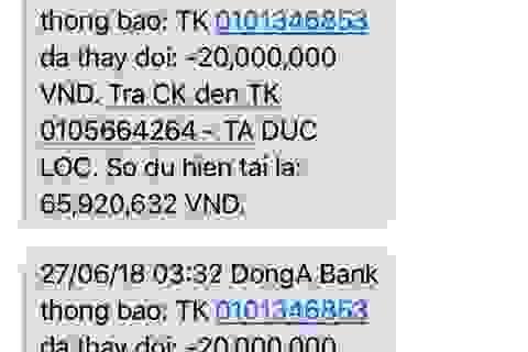 """Chủ thẻ ATM bị """"bốc hơi"""" 116 triệu đồng đòi được hoàn tiền"""