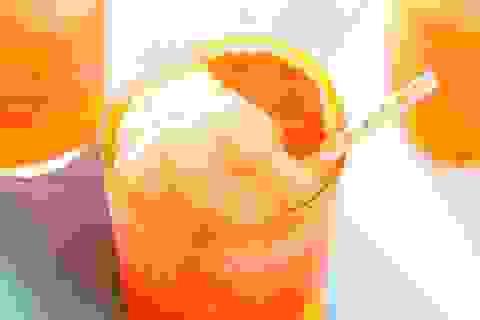 Tại sao nên cho nước cam ép vào ngăn đá trước khi sử dụng?