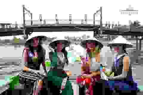Doanh nhân Khoa Trần đồng hành cùng dàn thí sinh Hoa hậu đại sứ du lịch Thế giới 2018