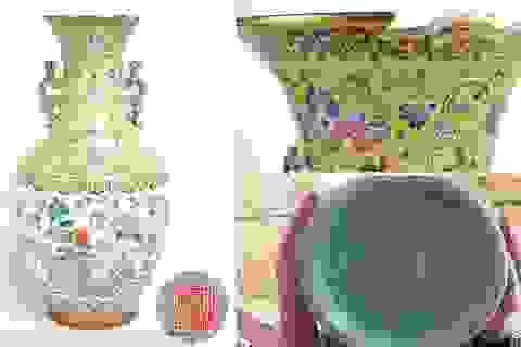 Bình gốm để đựng gậy suốt 40 năm bỗng tăng giá 550 lần