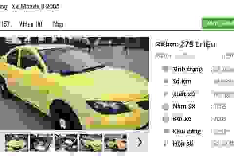 Những chiếc ô tô Mazda cũ này đang rao bán tầm giá 200 triệu đồng tại Việt Nam