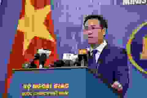 Bộ Ngoại giao lên tiếng việc Facebook đưa Hoàng Sa, Trường Sa vào bản đồ Trung Quốc