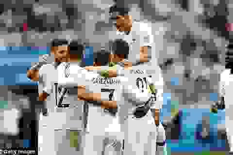 Pháp 2-0 Uruguay: Varane, Griezmann ghi dấu ấn