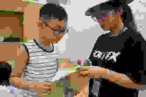 """Mê tít trại hè """"Chong chóng tre"""" của học sinh Hà Nội"""