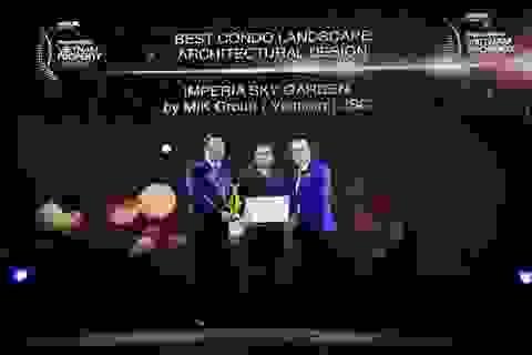 "Imperia Sky Garden ""đốn tim"" Ban giám khảo PropertyGuru Vietnam Property Awards 2018."