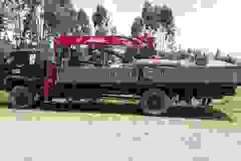 Kiểm lâm xin thỏa thuận với dân vì tự ý cắt gỗ tang vật