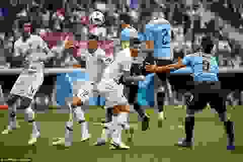Những khoảnh khắc Uruguay thất bại cay đắng trước Pháp