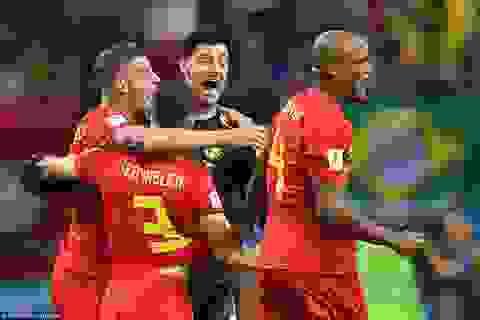 Bóng đá châu Âu thống trị ở vòng bán kết World Cup 2018