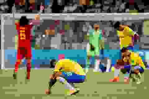 Báo giới Brazil nói gì sau khi đội nhà bị loại khỏi World Cup 2018?