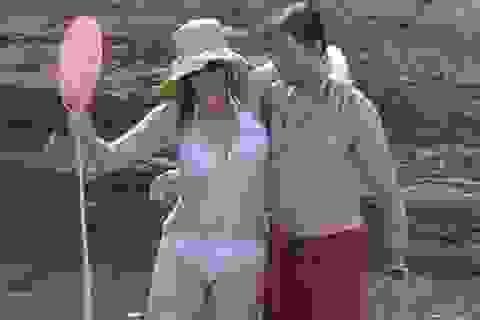 Kate Winslet hạnh phúc bên chồng