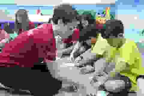 Trẻ nên học cách ứng xử khi còn nhỏ