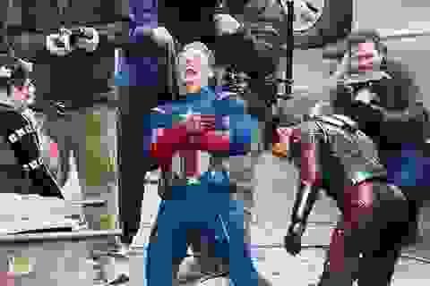 """""""Đột nhập"""" phim trường """"Biệt đội siêu anh hùng 4"""""""